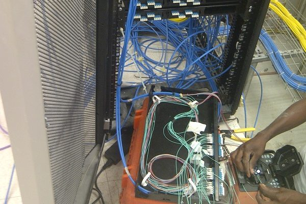 Fiber Optics splicing